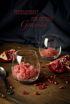 OMG, this looks wonderful & her photos are beautiful!  Little Box Brownie: Pomegranate Granita