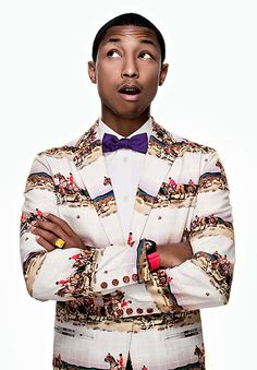 Pharrell Williams: Image from Pharrell's book via www.LuxeCrush.com