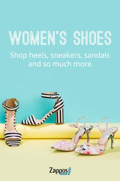 Regardless of where you're going, Zappos will help you get there in style. Because if you give a girl the right shoes, she can take on anything! Shop everything from sandals, sneakers, boots and more from all your favorite brands.