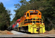 RailPictures.Net Photo: EARY 2014 Eastern Alabama Railway EMD GP38-2 at Berneys, Alabama by Bradley Bates