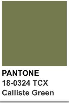 Calliste green