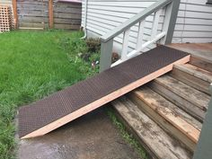 Dog Ramp From Repurposed Scratched Up Door 5 From Lowe S