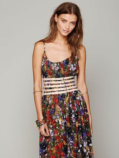 Friend of Mine Tripoli Corset Belt at Free People Clothing Boutique