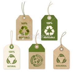 Eco Price Tags, vector art, graphic design