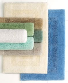 """I'm learning all about Martha Stewart Collection Plush Squares Cotton 17"""" x 24"""" Bath Rug Bedding at @Influenster!"""