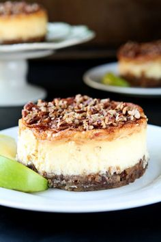 apple pecan cheesecake apple pecan cheesecake creamy and delicious ...