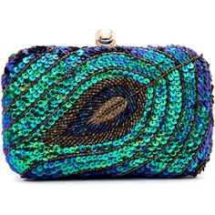SheIn(sheinside) Multicolor Sequined Bead Clutches Bag ($29) ❤ liked on Polyvore featuring bags, handbags, clutches, sheinside, multi, black purse, sequin purse, chain purse, black beaded purse and black chain handbag