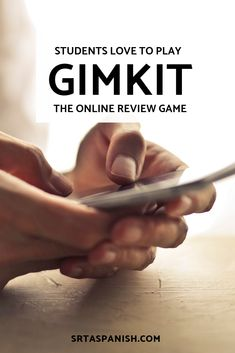 Are you looking for more ways to incorporate technology in your Spanish classes? Check out how to use Gimkit to mix up your class! This interactive, computer based game is low prep, but high engagement, especially at the end of the year! Your students will love it as a review game, or as a way to introduce new vocab! Click to see more and try it out!  #spanishclass #secondaryspanish French Lessons, Spanish Lessons, Spanish Games, Spanish 1, Teaching French, Teaching Spanish, Spanish Teacher, Middle School Spanish, Spanish Lesson Plans