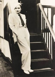 Cinema,Film Actresses, Circa A picture of the German-born US screen star and singer Marlene Dietrich, Get premium, high resolution news photos at Getty Images Lgbt, Ladies Trouser Suits, Katharine Hepburn, Cinema Film, Marlene Dietrich, Suit And Tie, Famous Women, Nice Tops, Suits For Women