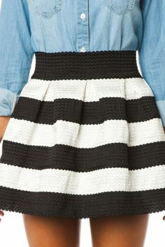 Have it but definitely didn't wear it with that dumb denim shirt! Wore with a simple solid black, crew neck, tight fitted tee... Everyone thought it was an adorable dress. FYI: Anthropology