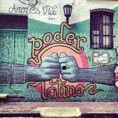 Poder latino @ San Telmo by @Alan Caradente