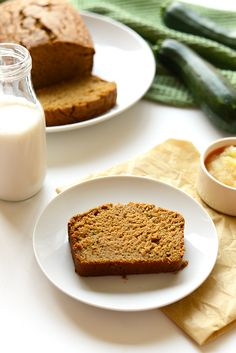 Try this simple coconut oil zucchini bread recipe for a delicious, fluffy treat filled with whole grains. The perfect healthy breakfast or snack.