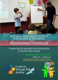 """TIC en IE.5136 Fernando Belaúnde Terry - Callao: Invitación a capacitación online """"Materiales didác..."""