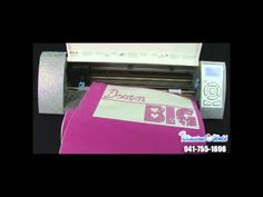 ▶ Part 2 How To Make A Rhinestone Shirt With The Silhouette Cameo Cutter The Rhinestone World - YouTube