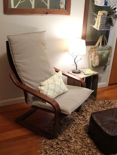 reading spot, living room