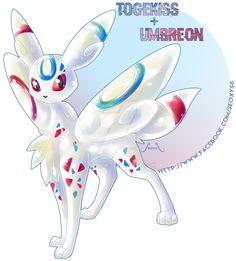 Pokémon Fusion: Togekiss X Umbreon Pokemon Mix, Pokemon Fusion Art, Pokemon Fake, Mega Pokemon, Cool Pokemon, Pokemon Stuff, Pokemon Sketch, Random Pokemon, Pokemon Cards