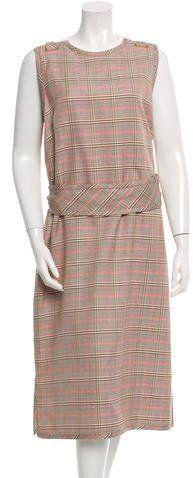 Trademark Indus Plaid Dress w/ Tags