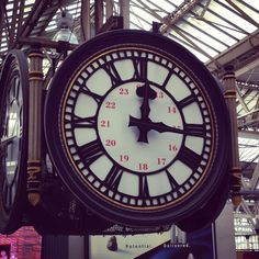 Waterloo Railway Station Clock