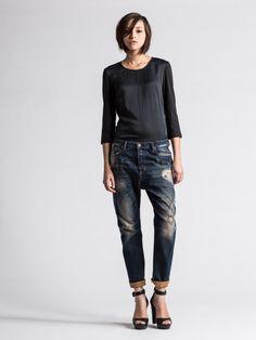 Diesel #jeans: EAZEE 0074M #DNA #Indigo