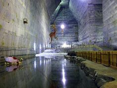 Slanic Prahova salt mine in Romania