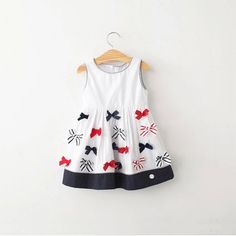 Summer Bow Dress – Poppatosh