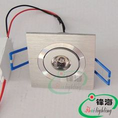 Free shipping wholesale 1X1W led ceiling light AC100-240V Warranty two year