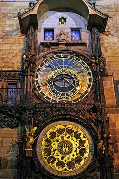 Astronomical Clock, Prague, Praha