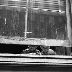 Many good people live in bad housing. Photo by Vivian Maier