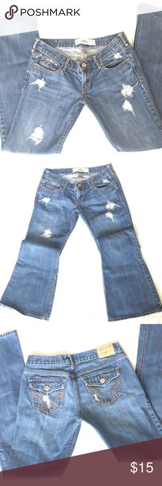 Hollister California Jeans -Size: 3S -W26,L31, Cute flare fit. Hollister Jeans Flare & Wide Leg