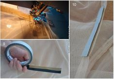 How to make a mosquito net / Fabrication d'une moustiquaire