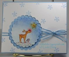 Merry Christmas by Linda D - Cards and Paper Crafts at Splitcoaststampers