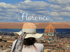 The 20 must see Florence attractions are revealed: from the Florence Cathedral to the Ponte Vecchio and everything in between.
