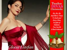 """Divabetic's ninth 'Diva Of Christmas's is superstar Gloria Estefan. """"The song """"Coming Out of the Dark"""" expresses how ultimately we are here for each other to help one another. And the strength of prayer . . . we do have the power to save one another . . . And I wanted to thank everyone for being there for me.""""LISTEN NOW: Diabetes Roundtable inspired by Gloria Estefan  http://www.blogtalkradio.com/divatalkradio1/2013/09/10/diabetes-roundtable-inspired-by-gloria-estefan"""