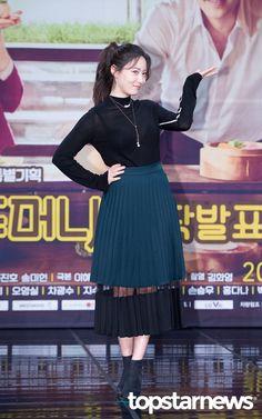 [HD포토] 류효영 시선을 사로잡는 시스루 의상 #topstarnews