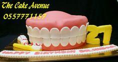 Cake for a dentist Cake, Desserts, Food, Pie Cake, Meal, Cakes, Deserts, Essen, Hoods