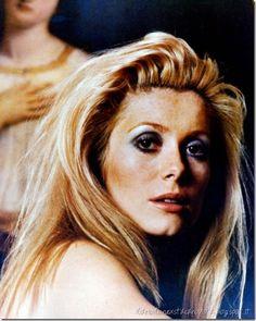 Catherine Deneuve in 'Belle de jour' Sixties make up
