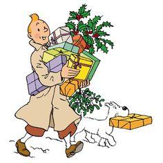 Tintin & Milou, Xmas Shopping