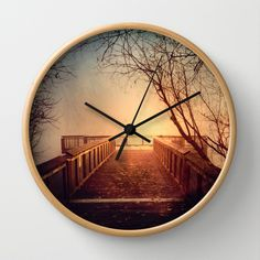 end of the dock Wall #Clock #homedecor
