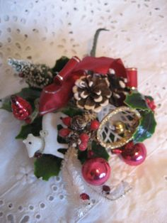 Vintage - Christmas Corsages