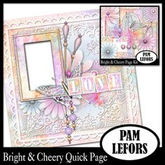 Pam Lefors Designs - free QP with Bright & Cheery kit