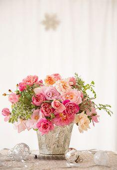 Roses de Noël ....reépinglé par Maurie Daboux ❥•*`*•❥