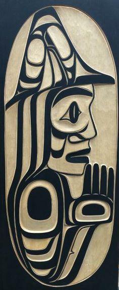 Hill's Native Art is North America's largest northwest Coast Native Art Gallery. Haida Kunst, Haida Art, Pacific West, Pacific Northwest, Native American Symbols, Aboriginal Artists, Spanish Art, Native Design, Rabe