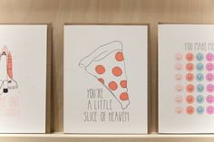 Best of the National Stationery Show: Pizza | Design*Sponge