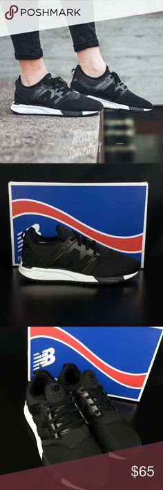 brand new 00828 f5406 New Balance Black White 247 Synthetic Brand new and with the original box  WRL247HL New Balance