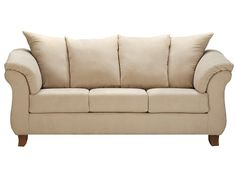 Slumberland | Clearance - Hamilton Collection - Suave Stone Sofa