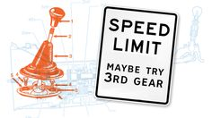 A Manual Transmission Might Keep You From Getting Speeding Tickets