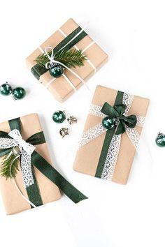 Geschenke kreative einpacken - mit dieser schönen Verpackungsidee für Weihnachten. www.whatmakesmehappy.de