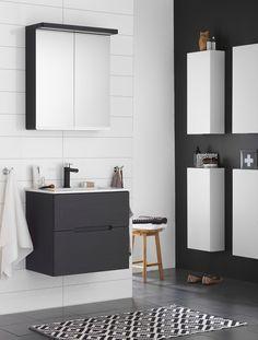 Bathroom Inspiration, Double Vanity, Ikea, New Homes, Outdoor Furniture, Design, Home Decor, Apocalypse, Compact