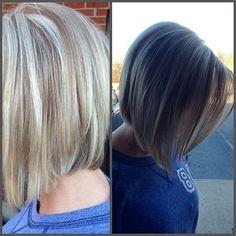 Classic Bob: Short Straight Haircuts Side View