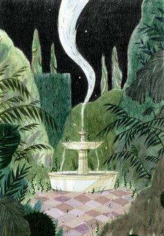 Illustration/print cici suen // backyard maze on Behance 6 Steps to Tremendous Smooth Fashionable Ha Camberwell College Of Arts, Labyrinth, Garden Illustration, Pencil Illustration, Freelance Illustrator, Art Plastique, Community Art, Illustrations, Maze